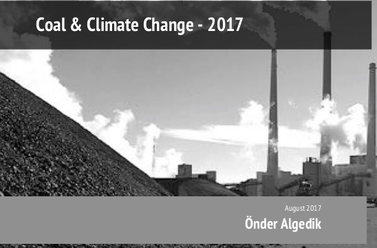 Coal and Climate Change 2017  Report