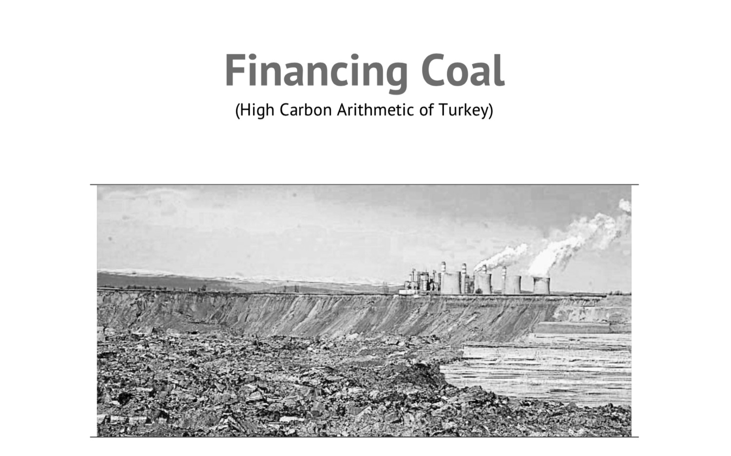 Coal & Climate Change 2015 Report: Financing Coal