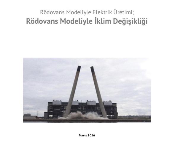 Rödovans Modeliyle İklim Değişikliği – Rapor